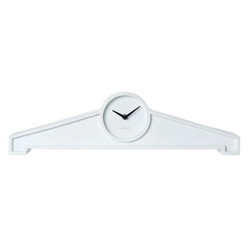 Karlsson Table Clock Past One with White Polystone 15cm