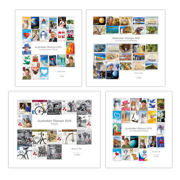 Australian Stamp 2015 Multisheets Collection