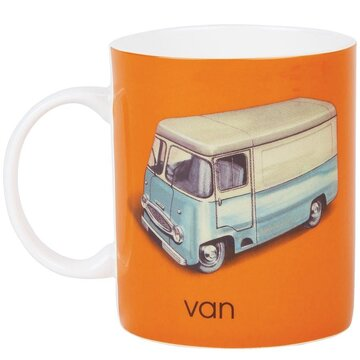 Ladybird Books The Vintage Collection Alphabet Mugs 340ml [V - Van]