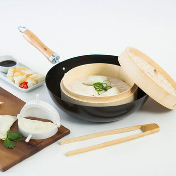 Asia One Dumplings Cooking Set (4 pieces)