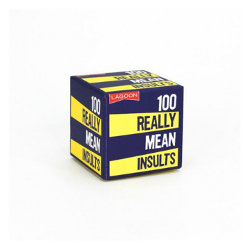 100 Really Mean Insults - Little Boxes Of Random Fun