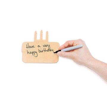 Happy Birthday You Complete Me Wooden Jigsaw Card