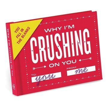 Why I'm Crushing on You - Fill in the Blanks Journal