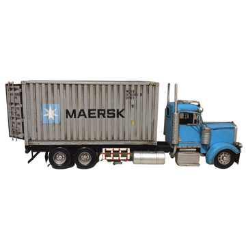 Diecast Maersk Container Truck Vehicle Model