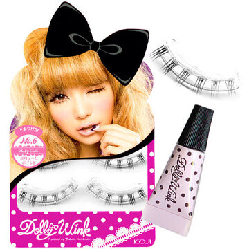 Dolly Wink False Eyelashes No.6 Baby Cute - 2 set pack