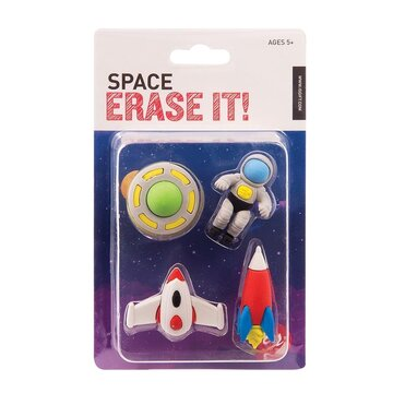 Erase It! Space (Set of 4 space themed erasers)