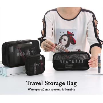 Tolietries and Electronics Waterproof Travel Organisers (3pc) Set