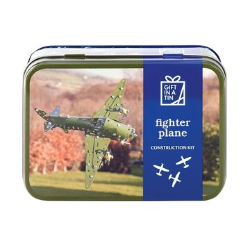 Apples to Pears Fighter Plane in a Tin
