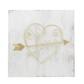 Emporium Love Arrow Wall Decor