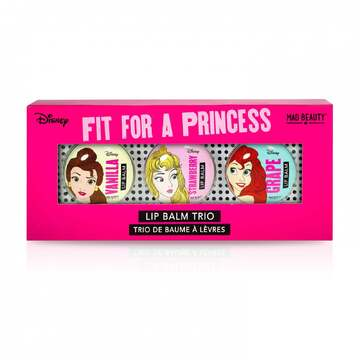 Mad Beauty Disney Princess Lip Balm Trio