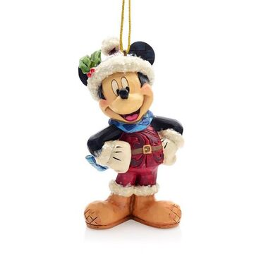 Jim Shore Disney Traditions Sugar Coated Mickey Mouse Hanging Ornament